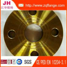 DIN2633 Pn16 soldadura carbono tubos de acero brida de