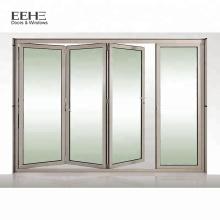 Portes et fenêtres pliantes en aluminium