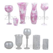 Vasos de vidro do mosaico da arte (TM1815)