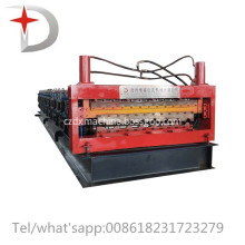 Double layer trapezoidal sheet forming machine