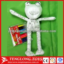 Pädagogische Frosch Malerei Spielzeug für Kinder Spiele