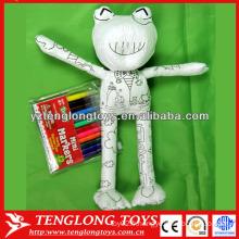 Jouets pédagogiques de peinture à la grenouille pour les jeux pour enfants