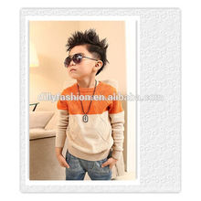 hot sale knitted cool cashmere pullover sweater for kid
