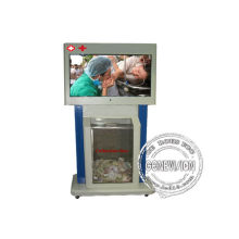 Floor Stand Kiosk Digital Signage Indoor With Touch Lcd Screen