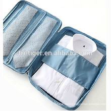 Shirt and Ties Storage Bag Organizer Wrinkle Free Shirt Travel Packing Clothes Holder with Handle