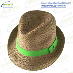 Women Fedora Straw Hat
