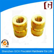 Precisão Custom Brass Parts CNC Qualidade Usinagem