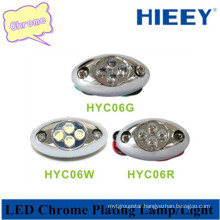 LED decorative lamp led side marker plating light for semi-truck and trailers