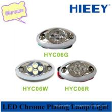 Светодиодная декоративная лампа светодиодной габаритной маркировки для полуприцепов и прицепов