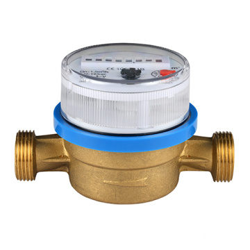 Single Jet Dry Type Brass Water Meters