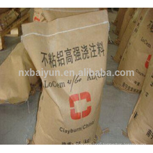 Good shock resistance refractory castable for ladle