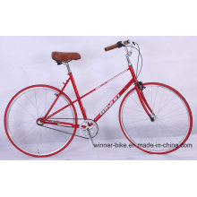 Cro-Moly Frame Retro Vintage Urban City Bike Road Bicycle