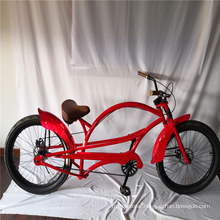 Adult Mens Long Frame Bike Stretch Bike American Chopper Beach Cruiser Bike