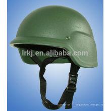 Casque balistique de l'armée kevlar niveau IV