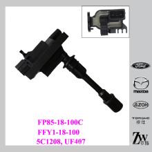 Para bobina de encendido Mazda para mazda Premacy MPV 1.8 1.9 2.0 FFY1-18-100, FP85-18-100, FP85-18-100C, 5C1208, UF407