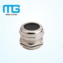 Connecteur de presse-étoupe en métal plaqué nickel PG25 avec joint, bague étanche à l'eau, ignifuge UL94-V2