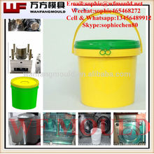 China supply quality products plastic 10 liter bucket mould/OEM Custom plastic injection plastic 10 liter bucket mold