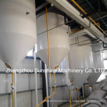 Equipamento da refinação de óleo da refinaria de petróleo comestível do amendoim 15t / D