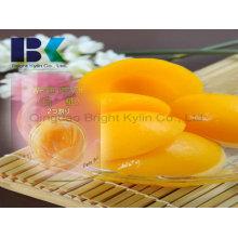 Freizeit Gesperrter gelber Pfirsich in Sirup