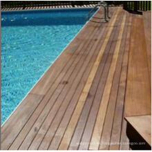 Ipe Outdoor Swimming Pool Cubierta de madera