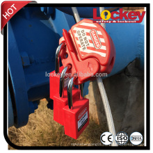 OEM Multipurpose Stainless Steel Cable Lock Safety Valve Lockout