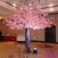 Plastic Artificial Cherry Blossom Tree