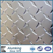 Five Bar Checkered Aluminium / Aluminium Sheet / Plate / Panel for Electrical