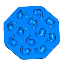 Durable Shaped Custom Silicone Ice Cube Tray