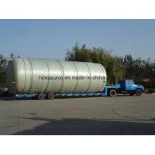 Tanque de jaqueta de fibra de vidro ou navio