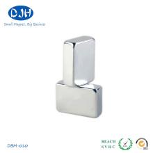 50 * 30 * 8mm N42 Matériaux de Terre rare NdFeB Magnet