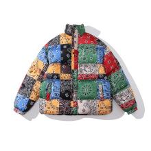 Abrigo acolchado de bandana de alta calidad para hombres en venta