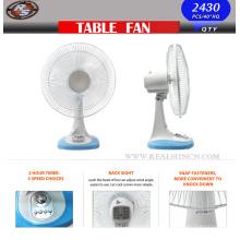 9/12 / 16inch Tisch-Ventilator-Schreibtisch-Ventilator mit 120mins Timer