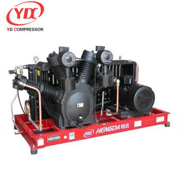 doppelt wirkender und sich hin- und herbewegender Luftkompressor 40bar