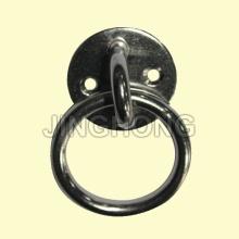 SS: Plaque ronde avec oeil et anneau