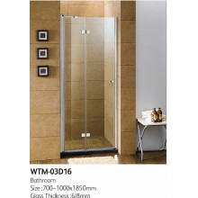 Hinge Shower Door Wall to Wall Wtm-03D16