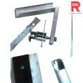 Profils d'extrusion en aluminium / aluminium pour cadre de carte