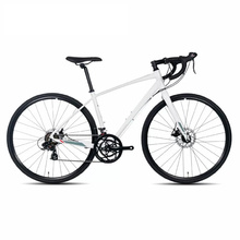 700c 14s White Hi-Ten Good Quality Road Bike