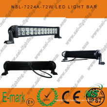 3 * 24W LED Light Bar, 13 polegadas Epsitar LED Light Bar, Spot / Flood / Combo LED Light Bar para estrada