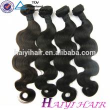 Thick Bottom 100 Unverarbeitete Groß-Unverarbeitete Virgin Peruvian Hair Weben