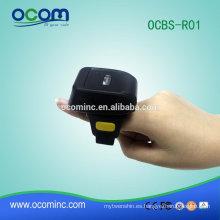 OCBS-R01 protable 1d escáner de código de barras bluetooth inalámbrico para teléfono inteligente android