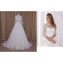 Robes de mariée occasionnels de Real photo plage 2015