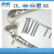 China Supplier Fracture Fix Trauma Orthopädische Vorrichtung Metacarpus Platten Locking Plate, Orthopädische Implantate, 2,5 T Locking Plate