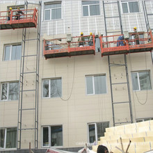 Panel de pared de poliuretano externo: reconstrucción de la casa antigua