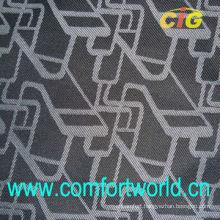 Weave Jacquard Auto Fabric With Bonding Backing