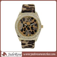 Leopard imprimir moda senhora marca assistir (RA1140)