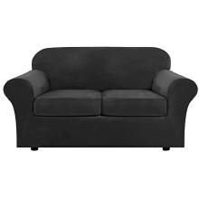 Têxteis domésticos, sofá extensível, capas para assento de amor