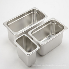 Stainless Steel Food Container Gastronome Pans Full Size gn Pan