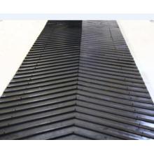 Chevron Conveyor Belt with Ribs / Transmission Rubber Conveyor Belt