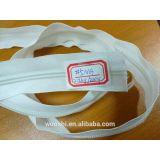 5# 2.2kg/200yards cheap zipper/long chain nylon zipper Raw white
