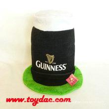 Fiesta de peluche de felpa con sombrero de Escocia